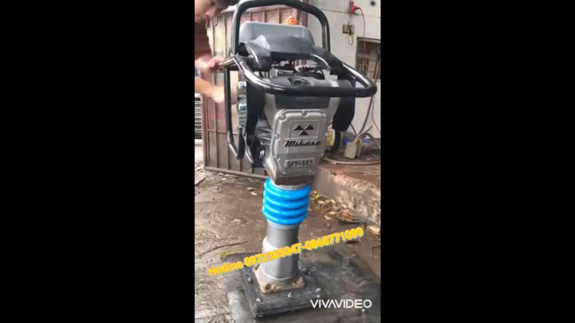 Báo giá máy đầm cóc MT55L hàng bãi Nhật giá rẻ nhất Hà Nội